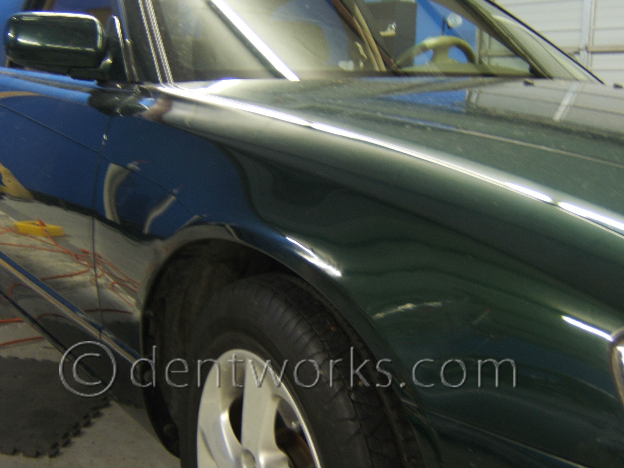 Paintless Dent Removal Cost >> Paintless Dent Repair Before And After Pictures Dentworks