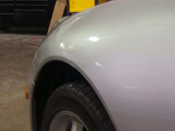 Paintless Dent Repair Before And After Pictures Dentworks Of Austin